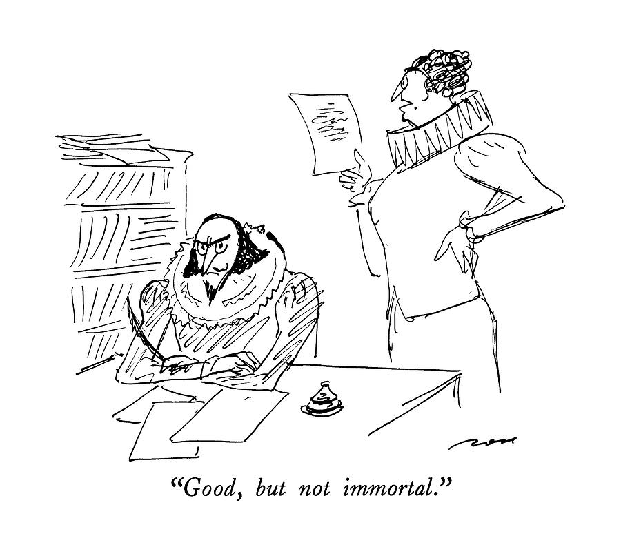 Good, But Not Immortal Drawing by Al Ross