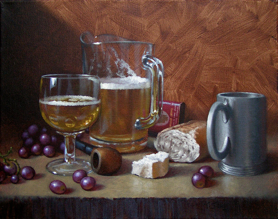 Beer Painting - Good Company by Timothy Jones