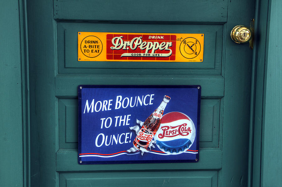 Dr. Pepper Photograph - Good For Life Or More Bounce? by David Simons