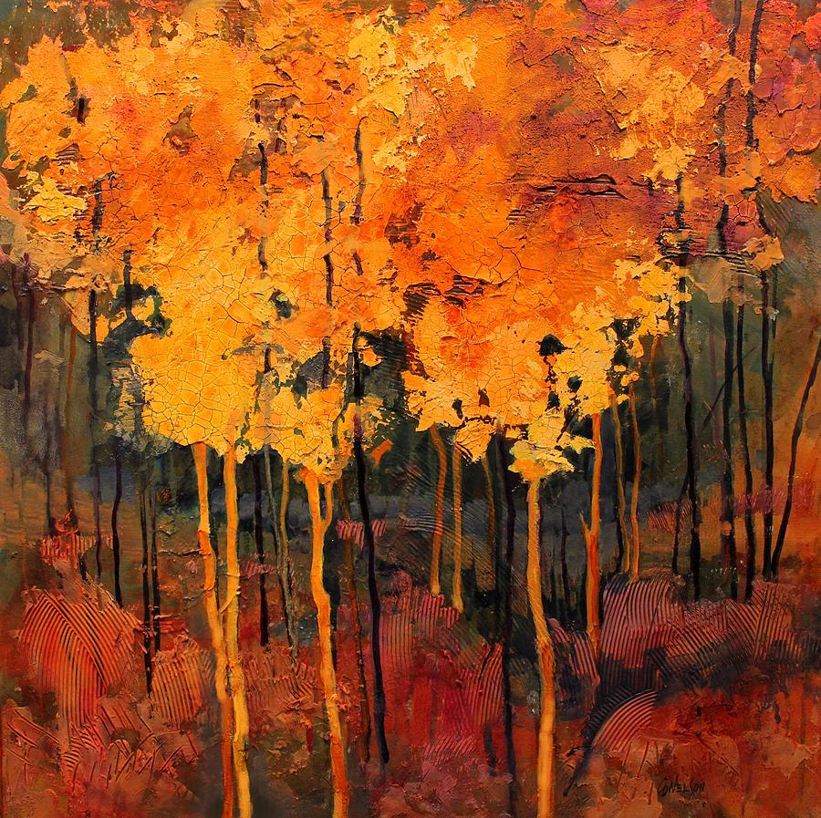 Landscape Painting - Good Fortune by Carol Nelson