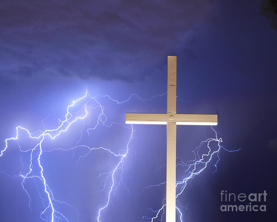 Lightning Photograph - Good Friday by James BO  Insogna