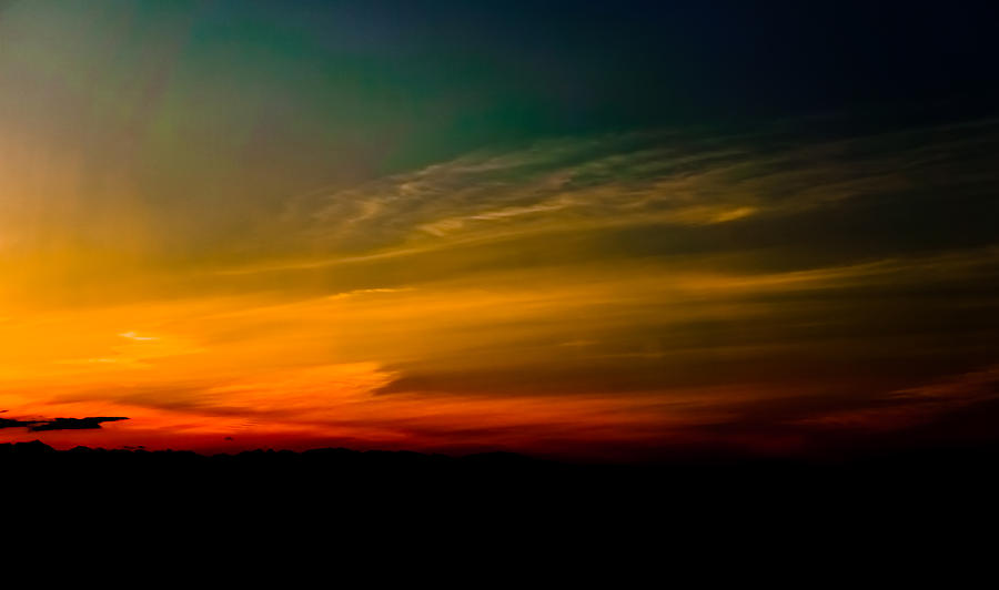 Bainbridge Island Ferry Photograph - Good Friday Sunset by Ronda Broatch