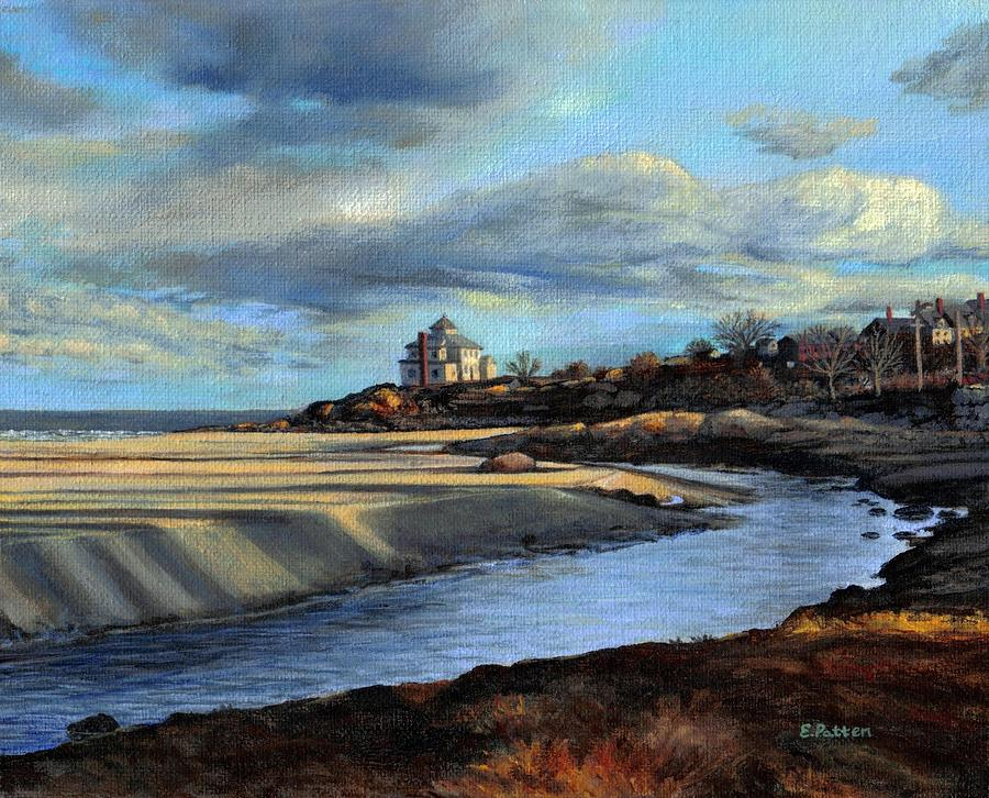 Beach Painting - Good Harbor Beach Gloucester by Eileen Patten Oliver