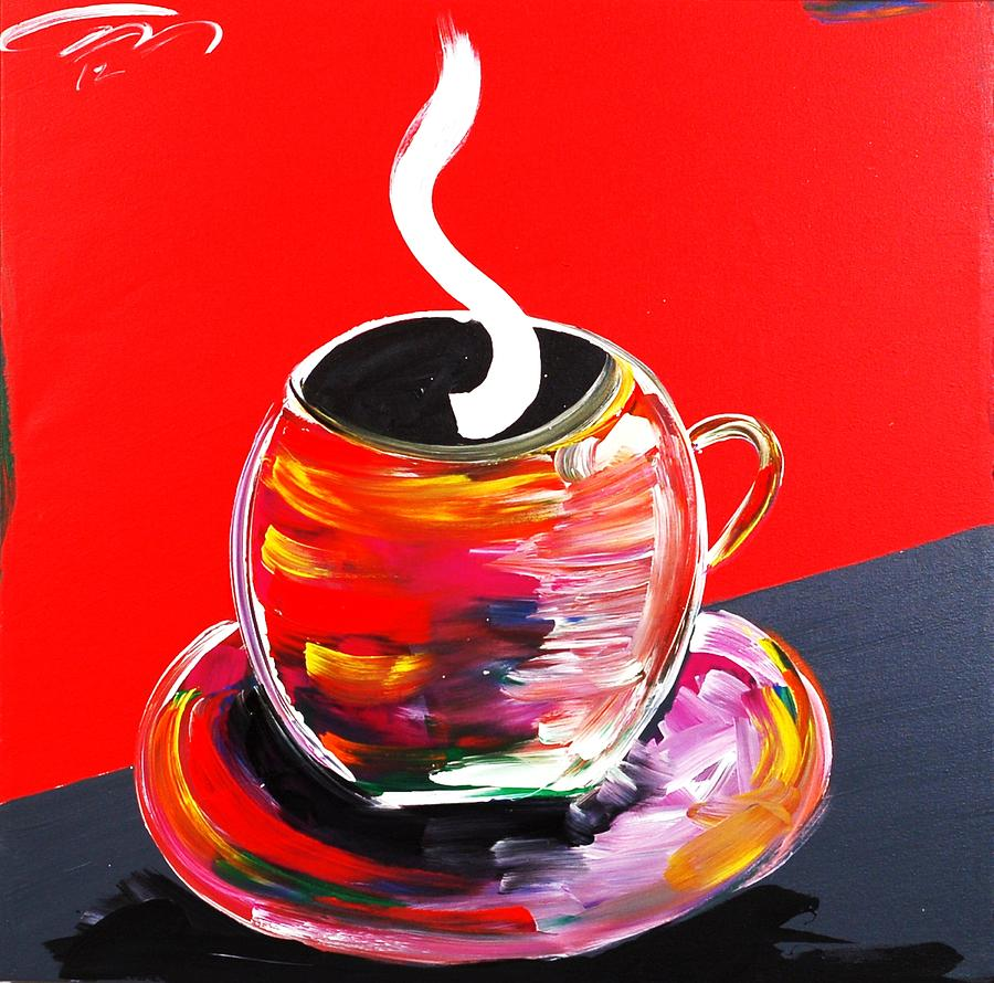 Painted Painting - Good Morning America by Mac Worthington