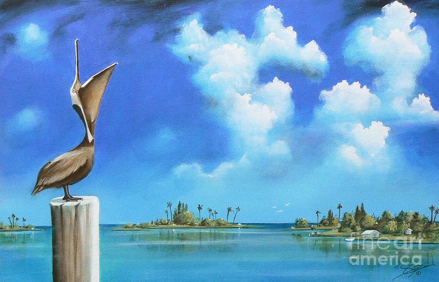 Acrylics Painting - Good Morning Florida by S G