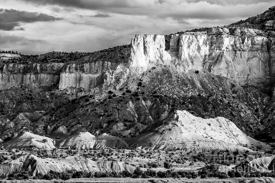 Ghost Photograph - Good Morning Ghost Ranch - Abiquiu New Mexico by Silvio Ligutti