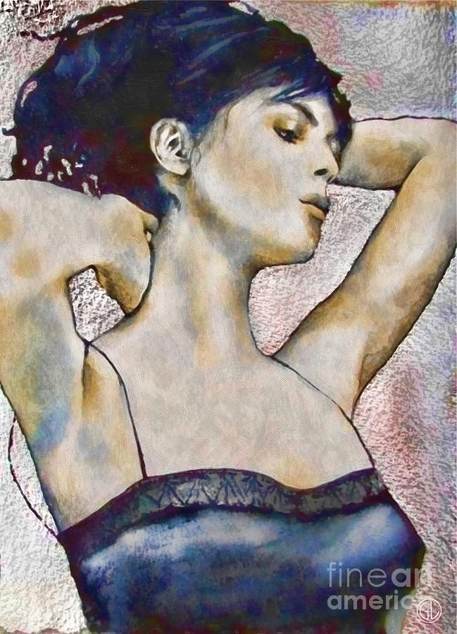 Woman Digital Art - Good Morning by Gun Legler