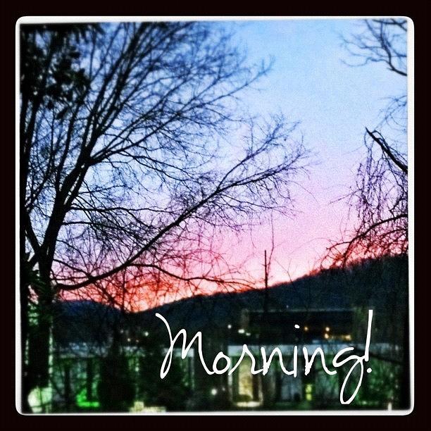 Beautiful Photograph - Good Morning! #sunrise #morning by Teresa Mucha