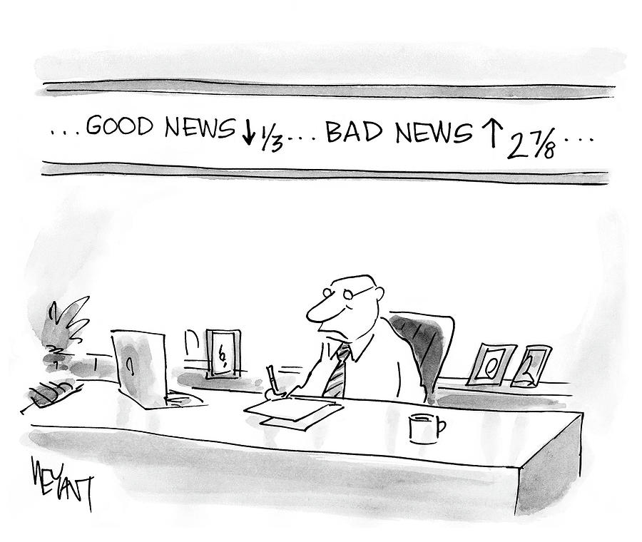 Good News Drawing by Christopher Weyant