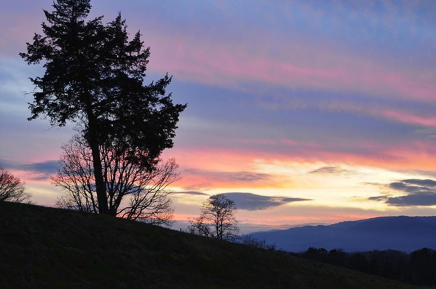 Blue Ridge Photograph - Good Night Blue Ridge by Lara Ellis