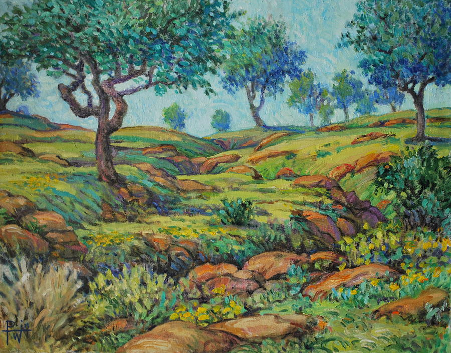 Pasture Painting - Good Pasture Poor Land For Farming by Henry Potwin