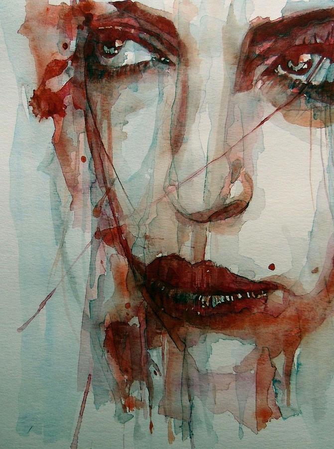 Face Painting - Goodbye To Love by Paul Lovering