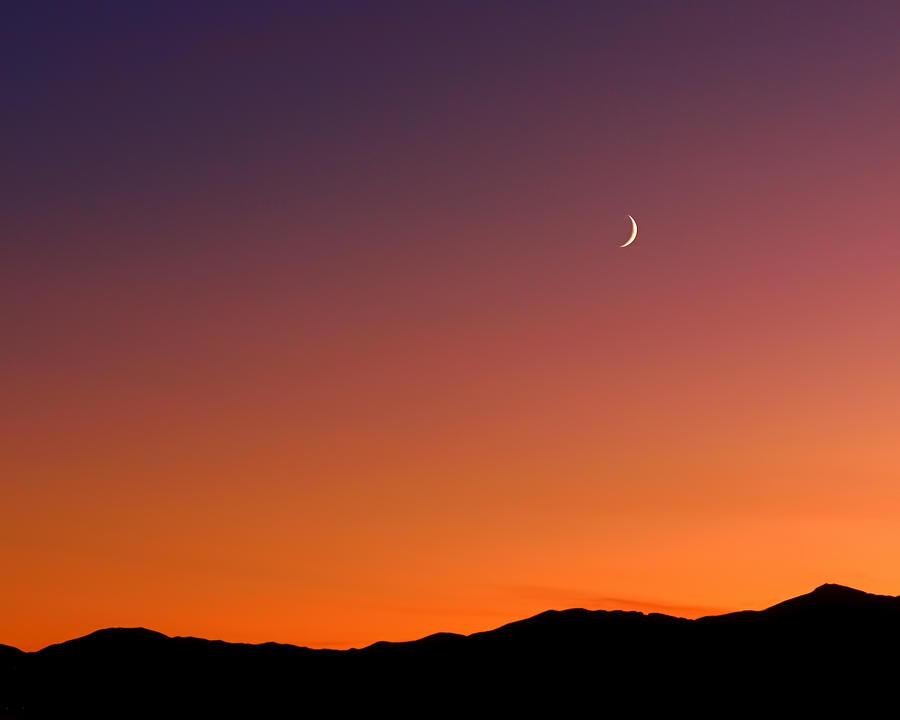 Goodnight Moon Photograph - Goodnight Moon by Rona Black