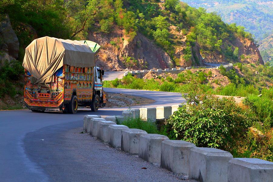 Goods Transportation Truck Photograph by Amir Mukhtar