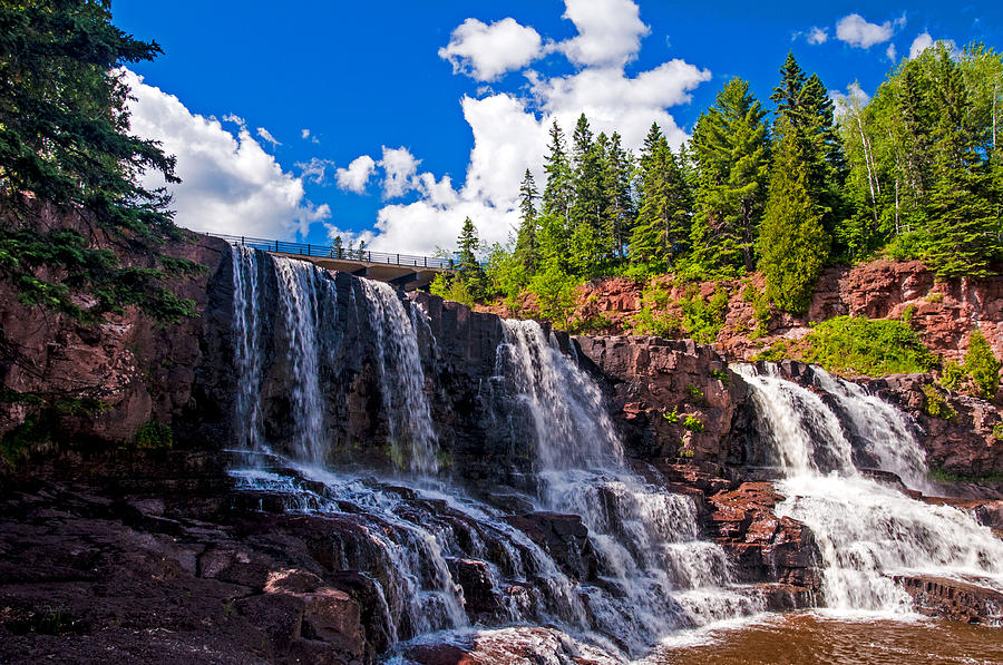 Gooseberry Falls Photograph by Lonnie Paulson