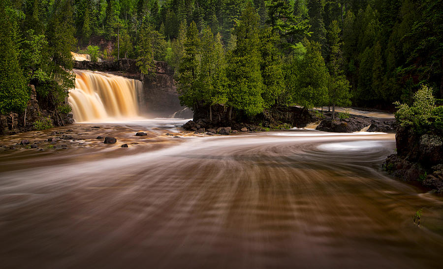 Gooseberry Falls Superhighway by Steve White