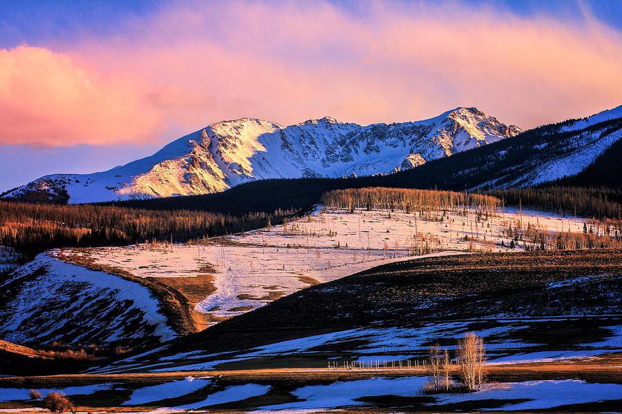 Landscape Photograph - Gore Range Sunset by John McArthur