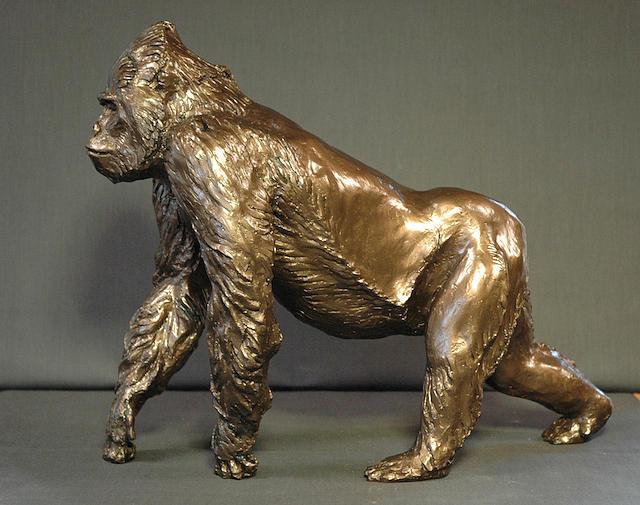 Gorilla Sculpture - Gorilla by Gary Wind
