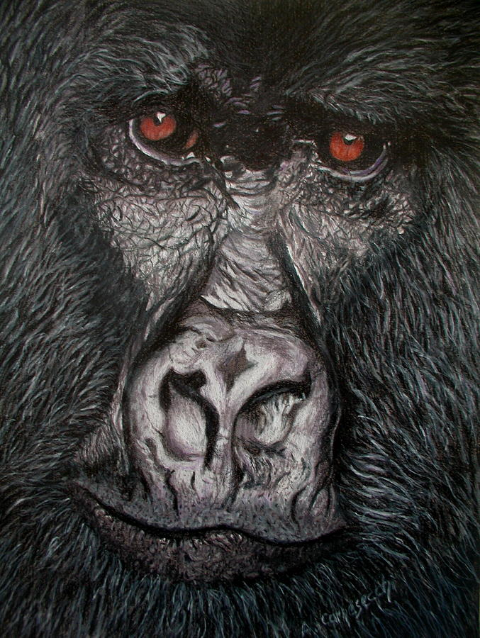 It's just a picture of Agile Picture Of Gorilla Drawing A Picture