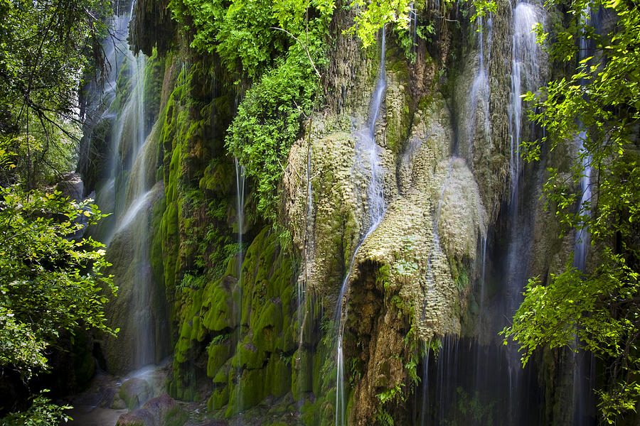 Colorado Bend State Park Photograph - Gorman Falls by Mark Weaver