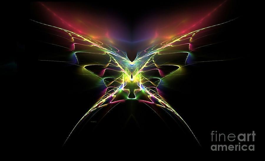 Gossamer Digital Art - Gossamer Wings by Greg Moores