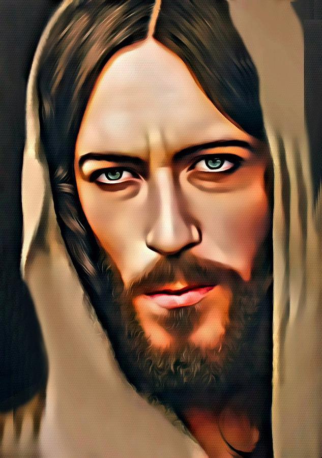 Greeting Cards Digital Art - Got Jesus? by Karen Showell