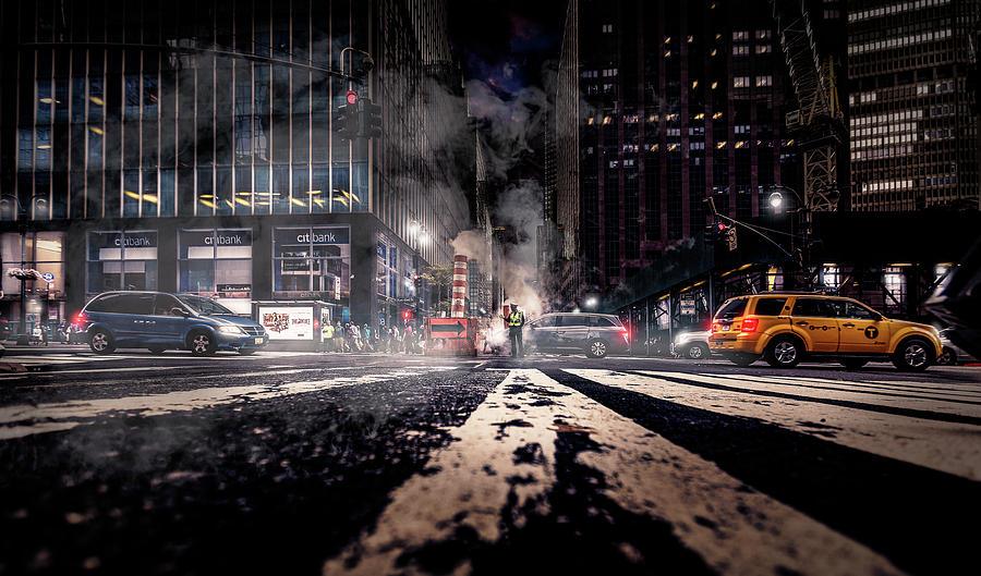 Nyc Photograph - Gotham - Breaking Dawn by Jackson Carvalho