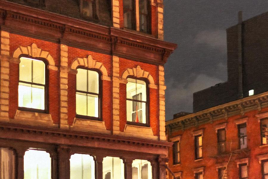 Gotham Photograph - Gotham By Night - New York City by Mark E Tisdale