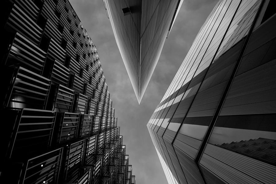London Photograph - Gotham City by Roland Shainidze