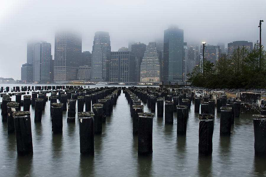 Nyc Photograph - Gotham Mist by Michael Murphy