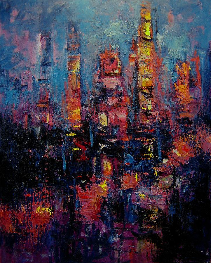 Gotham Painting - Gotham by R W Goetting