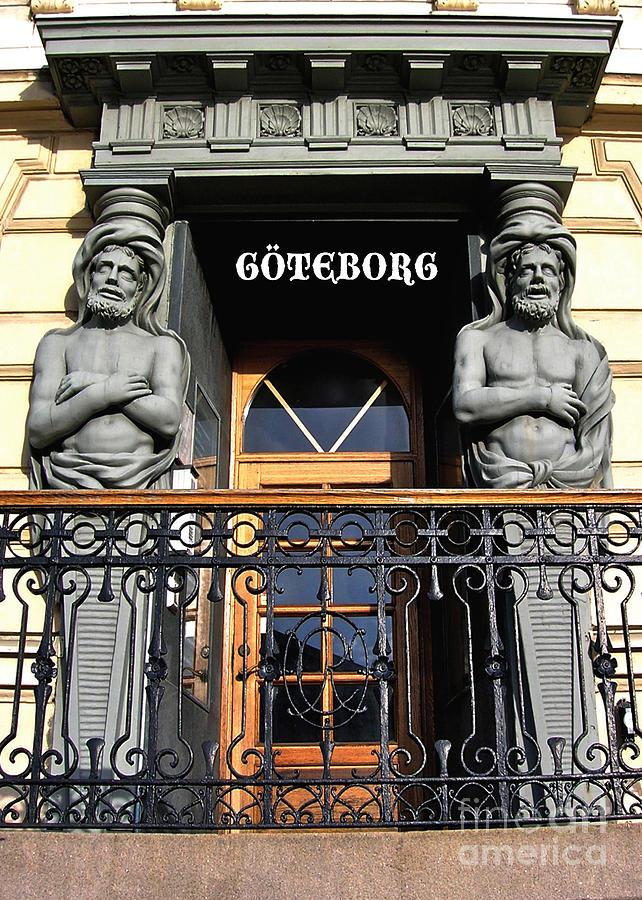 Gothenburg Digital Art - Gotheburg Portal by Leif Sodergren