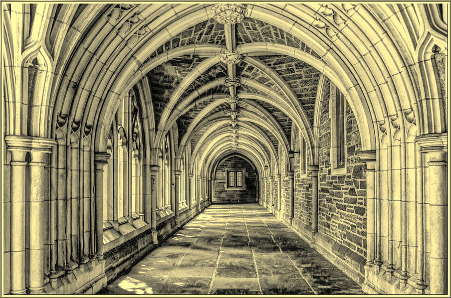 Gothic Arches At Princeton University In New Jersey Photograph
