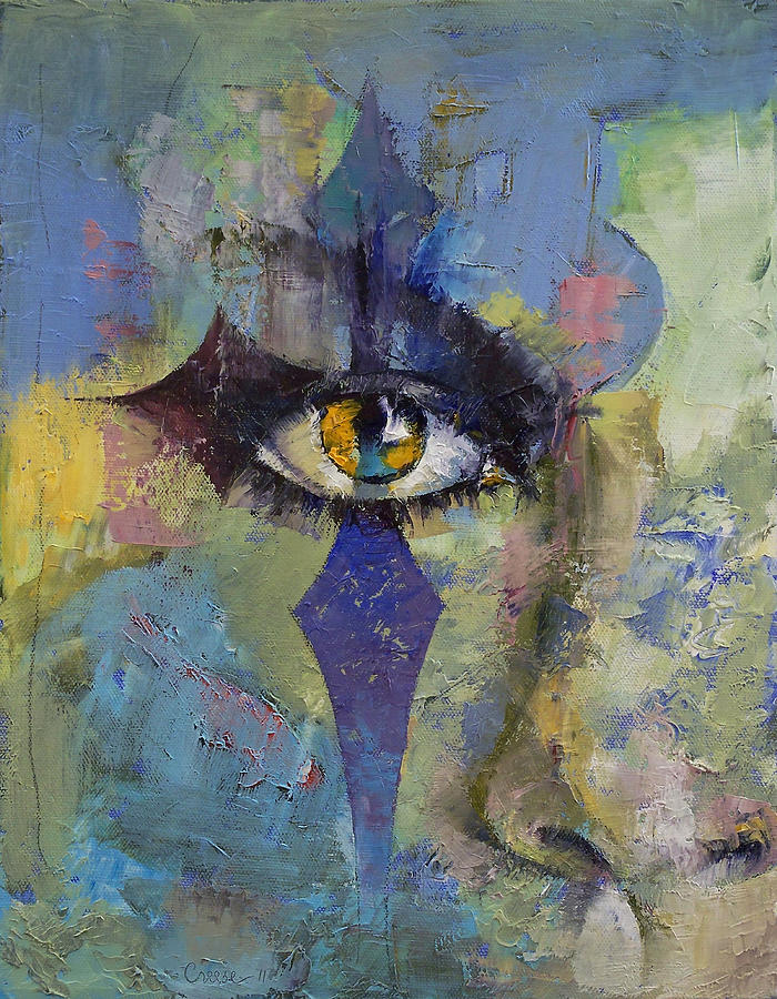 Michael Creese Painting - Gothic Art by Michael Creese