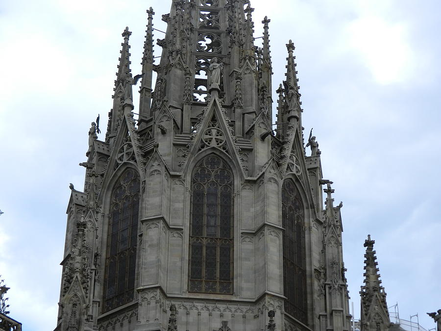 Gothic Photograph - Gothic Church by Jerry Killian