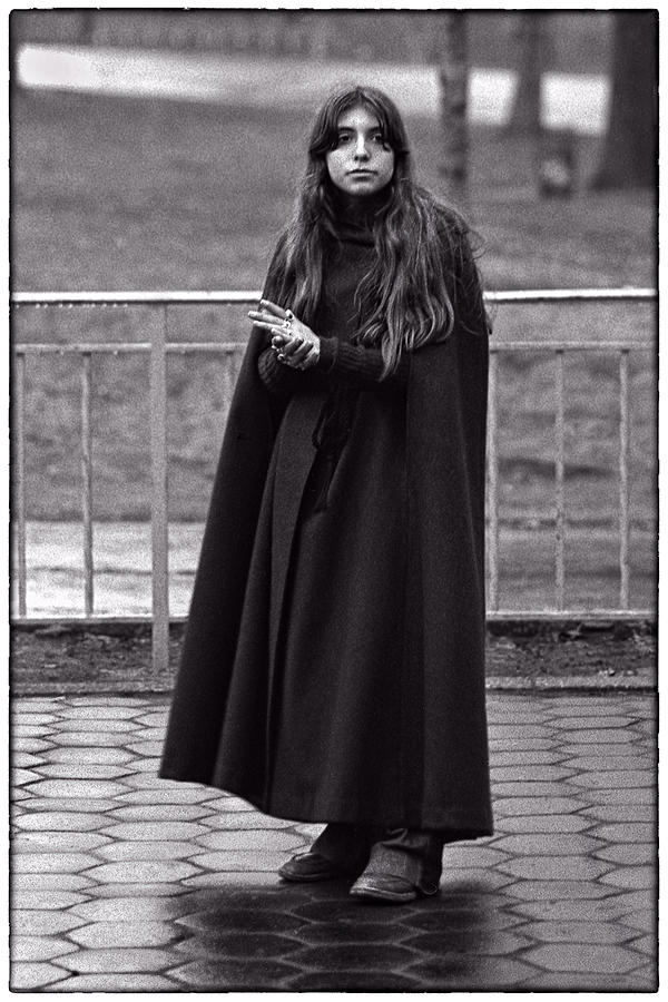 Girl Portrait Photograph - Gothic Miss by Hal Norman K