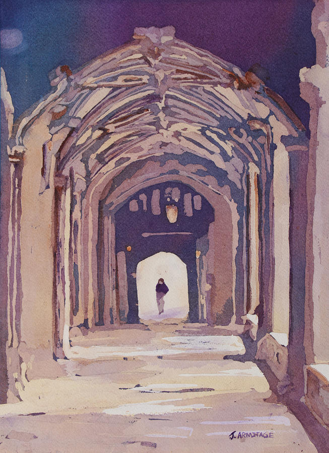 Arches Painting - Gothic Spector by Jenny Armitage