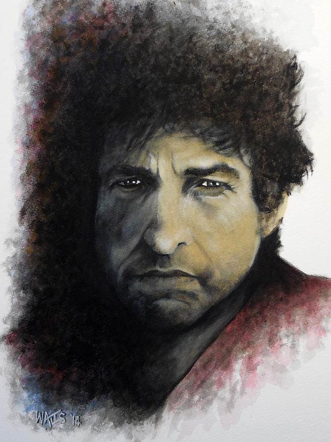 Dylan Painting - Gotta Serve Somebody - Dylan by William Walts
