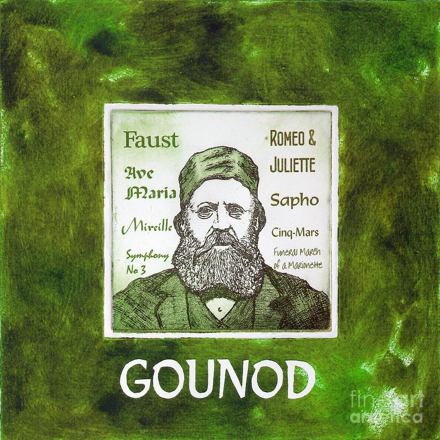 Gounod Mixed Media - Gounod by Paul Helm
