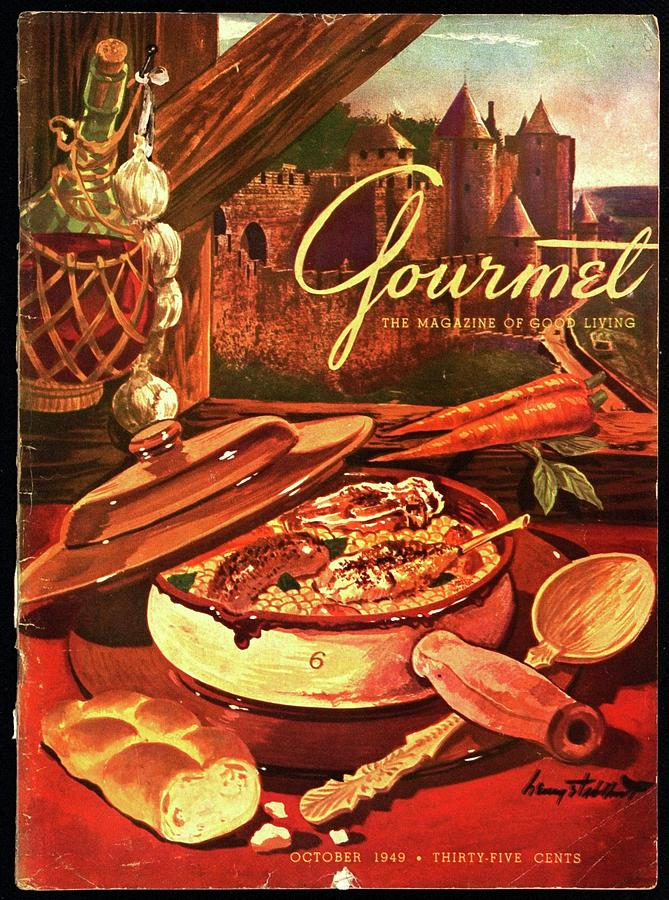 Gourmet Cover Featuring A Pot Of Stew Photograph by Henry Stahlhut