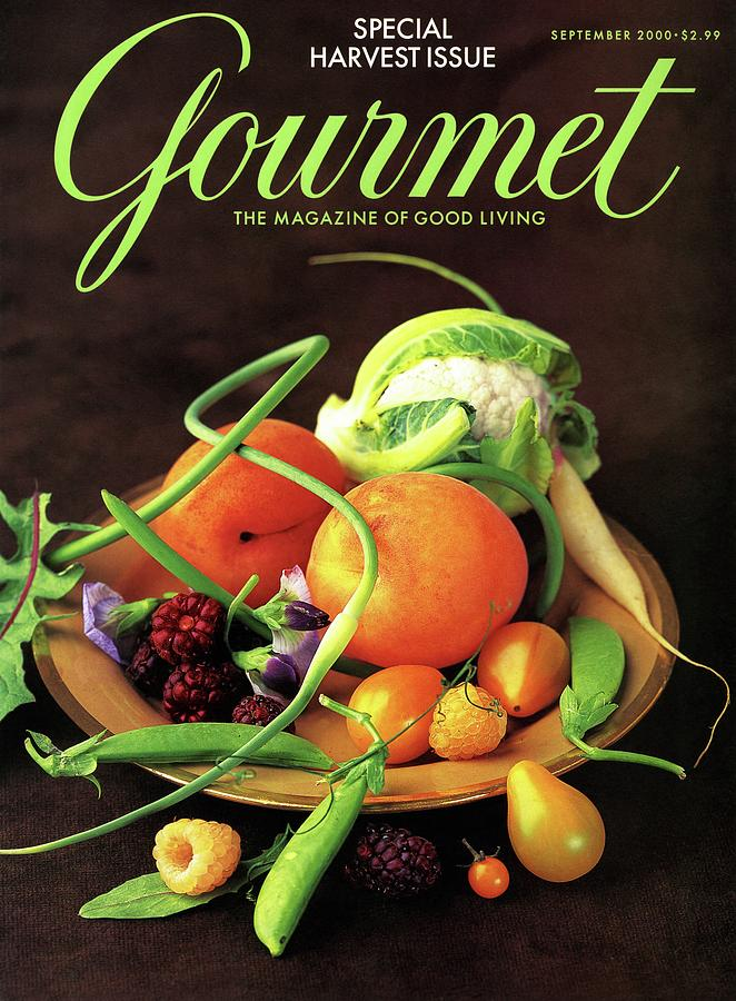 Gourmet Cover Featuring A Variety Of Fruit Photograph by Romulo Yanes