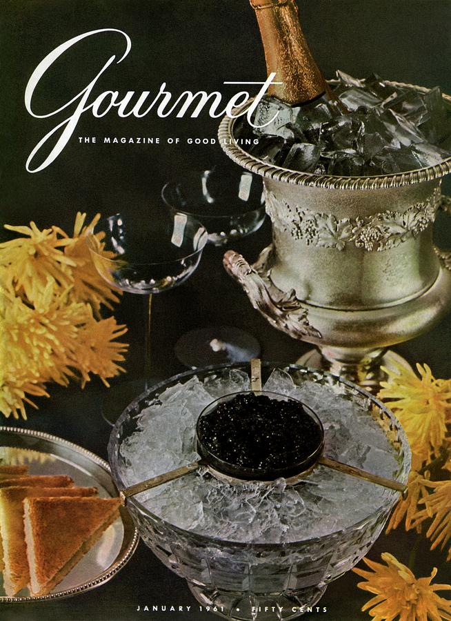 Gourmet Cover Featuring A Wine Cooler Photograph by Arthur Palmer