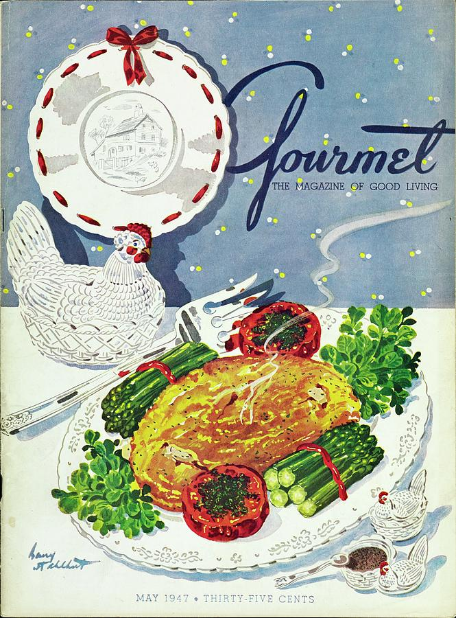 Gourmet Cover Of An Omelette Photograph by Henry Stahlhut