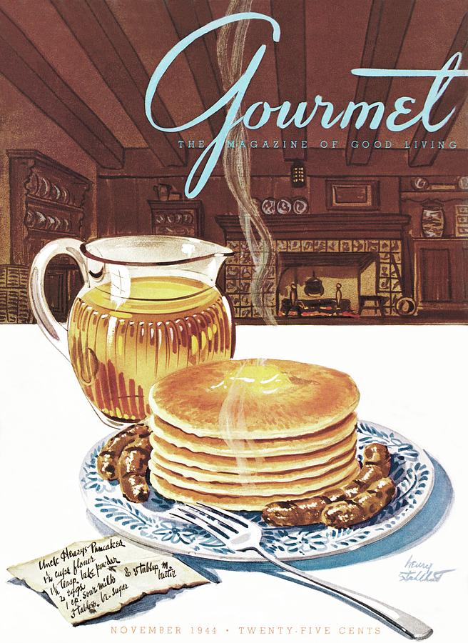 Gourmet Cover Of Pancakes Photograph by Henry Stahlhut