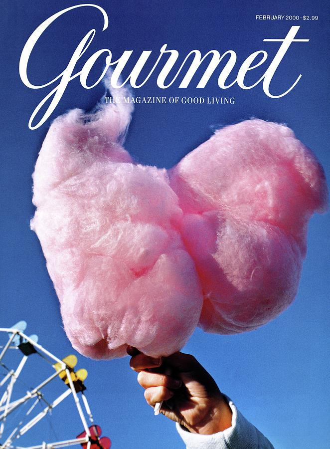 Gourmet Magazine Cover Featuring Hand Holding Photograph by Kristine Larsen