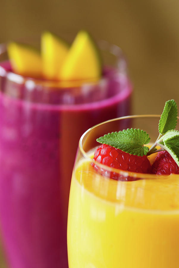 Gourmet Refreshing Fruit Smoothie Photograph by Adventure photo