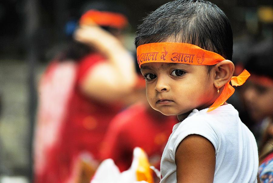 Mumbai Photograph - Govinda Kid by Money Sharma