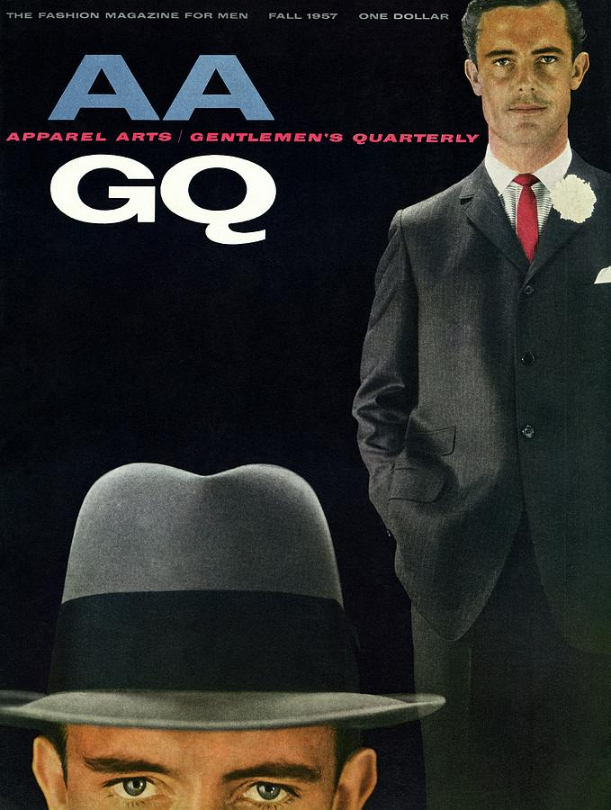 Gq And Aa Cover Of A Montage Of A Male Model Photograph by Emme Gene Hall