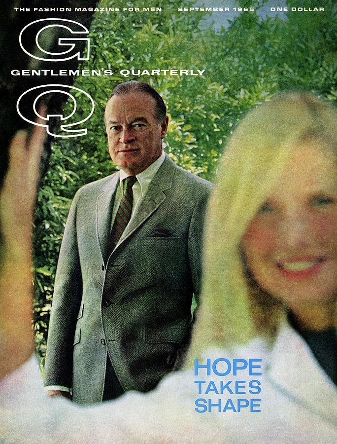 Gq Cover Featuring Bob Hope Photograph by Richard Richards