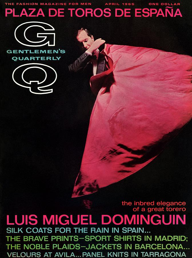 Gq Cover Featuring Miguel Dominguin Photograph by Carl Fischer